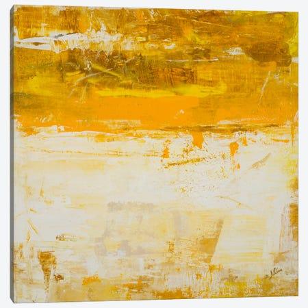 Yellow Field Canvas Print #JSR16} by Julian Spencer Art Print