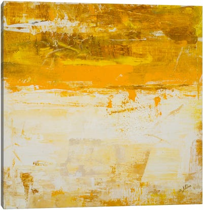 Yellow Field Canvas Art Print