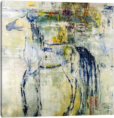 British Pony Canvas Print #JSR17