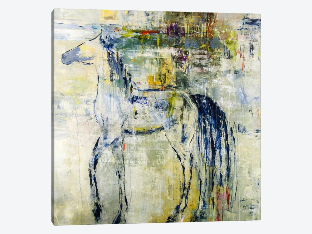 British Pony by Julian Spencer 1-piece Canvas Print