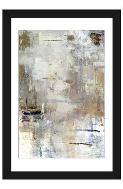Asking for White Framed Art Print