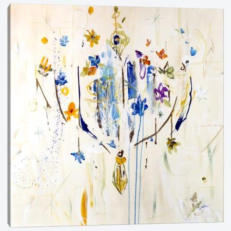 Natural Chandelier II Canvas Print #JSR22} by Julian Spencer Art Print