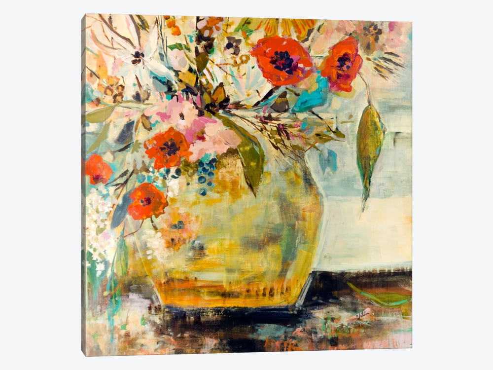 Poppies and More by Julian Spencer 1-piece Canvas Artwork