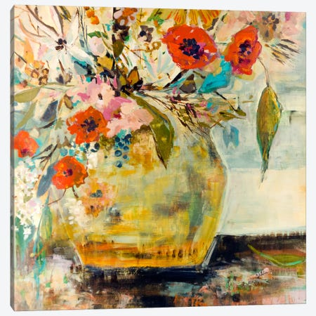 Poppies and More Canvas Print #JSR23} by Julian Spencer Canvas Art Print