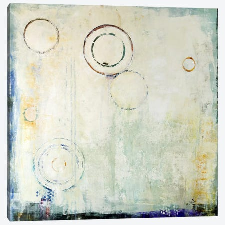 Concentric Canvas Print #JSR2} by Julian Spencer Canvas Art Print