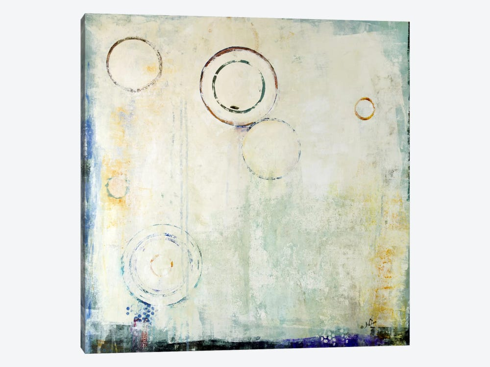 Concentric by Julian Spencer 1-piece Canvas Art Print