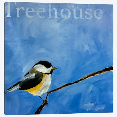 Treehouse Canvas Print #JSR46} by Julian Spencer Canvas Artwork