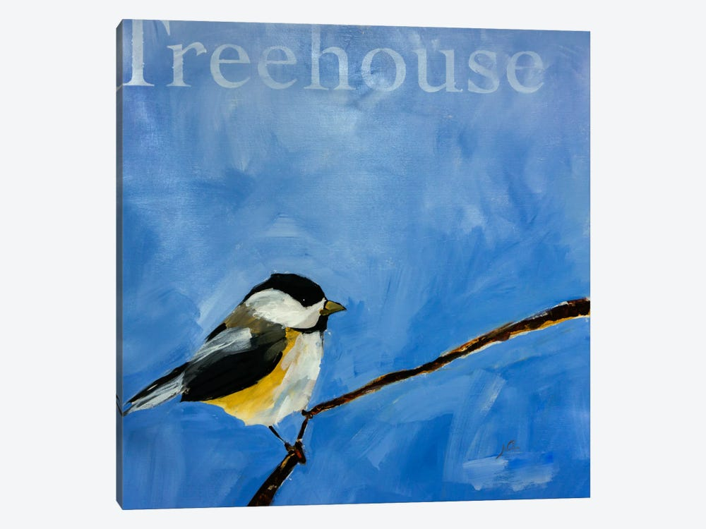 Treehouse by Julian Spencer 1-piece Canvas Print