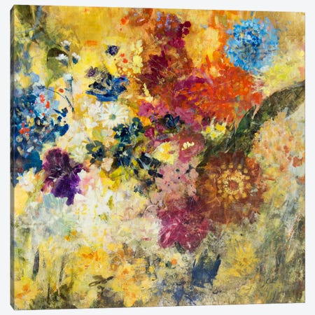 Untethered Bouqet Canvas Print #JSR47} by Julian Spencer Canvas Wall Art