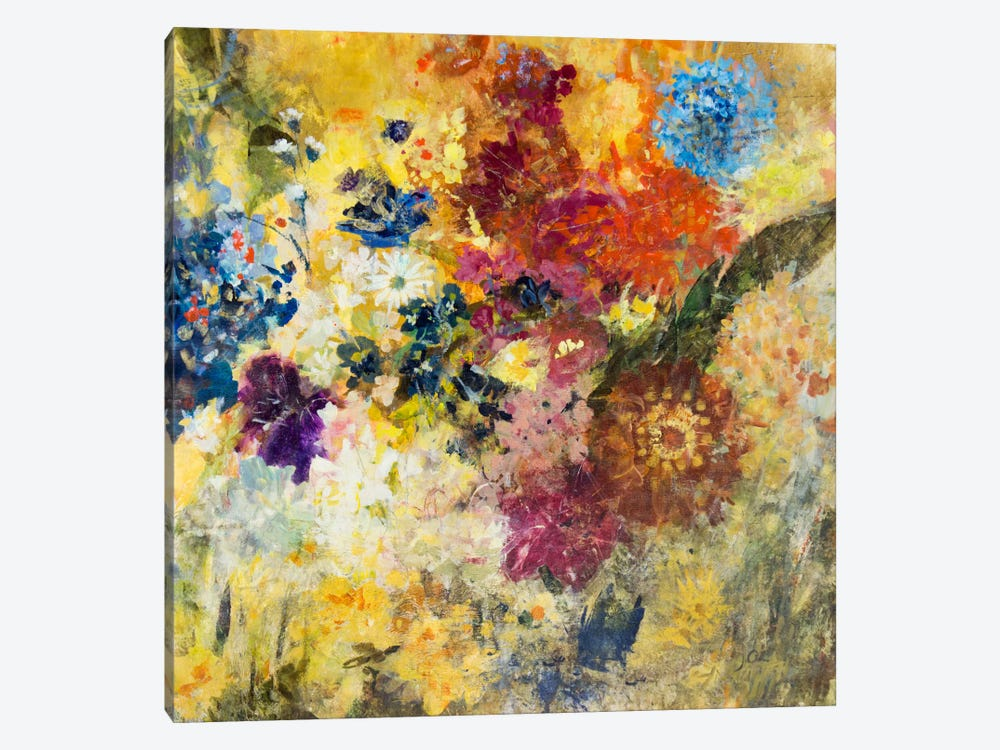 Untethered Bouqet by Julian Spencer 1-piece Canvas Wall Art