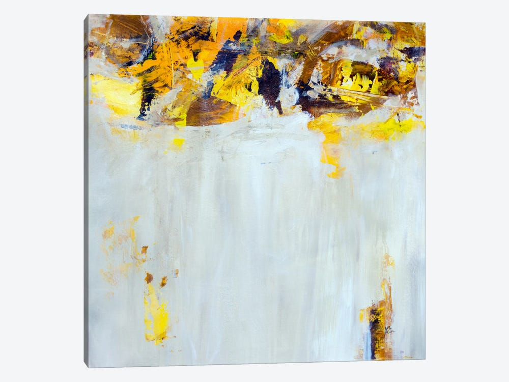 Yellow Spice by Julian Spencer 1-piece Canvas Print