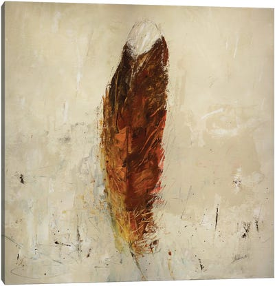 Feather Flame Canvas Art Print