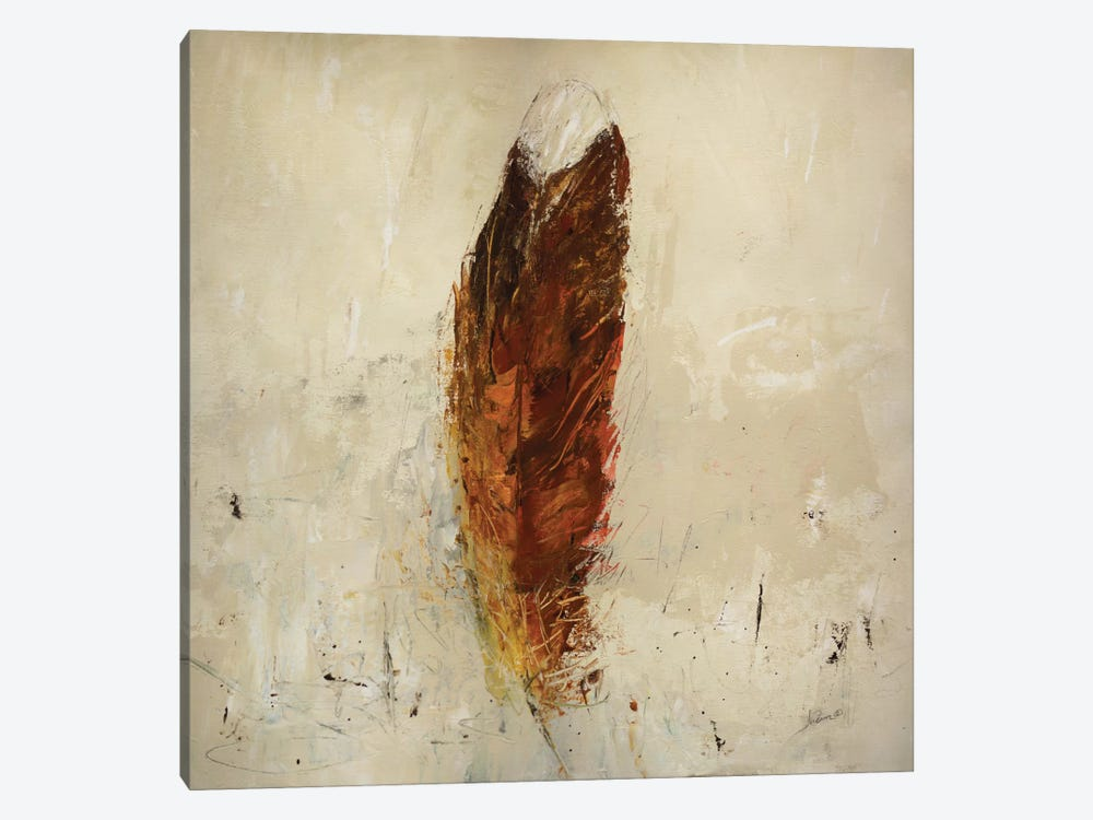Feather Flame by Julian Spencer 1-piece Canvas Art Print
