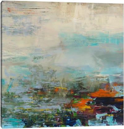 Harbor Lights Canvas Print #JSR61