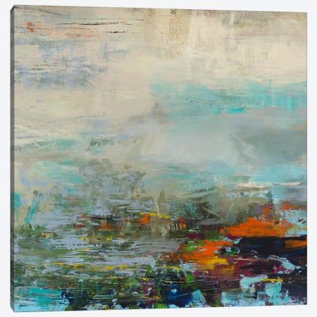 Harbor Lights Canvas Print #JSR61} by Julian Spencer Art Print