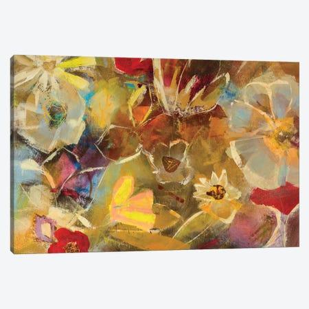 Chalkboard Flowers I Canvas Print #JSR81} by Julian Spencer Canvas Art Print