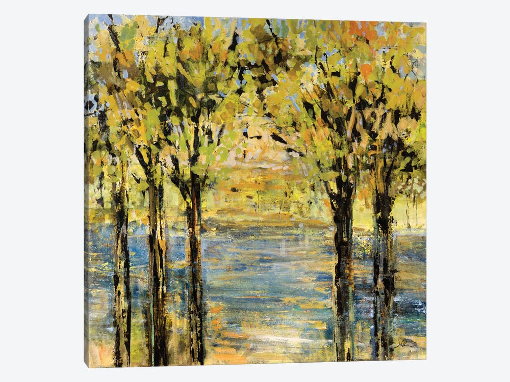 Lakeside Delight by Julian Spencer 1-piece Canvas Artwork
