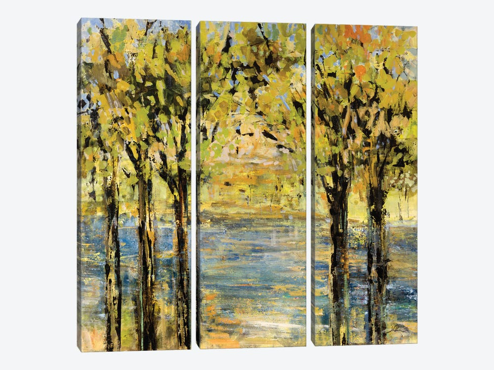 Lakeside Delight by Julian Spencer 3-piece Canvas Artwork