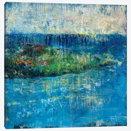 Painted Isle Canvas Print #JSR85} by Julian Spencer Canvas Artwork