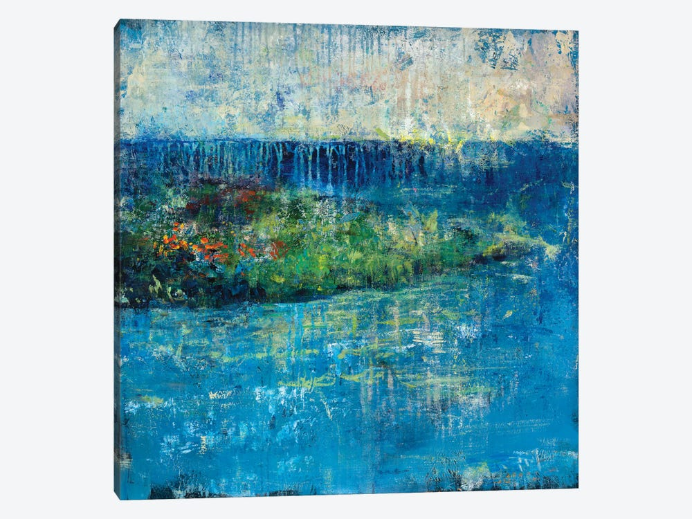 Painted Isle by Julian Spencer 1-piece Canvas Art