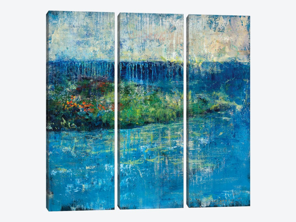 Painted Isle by Julian Spencer 3-piece Canvas Wall Art