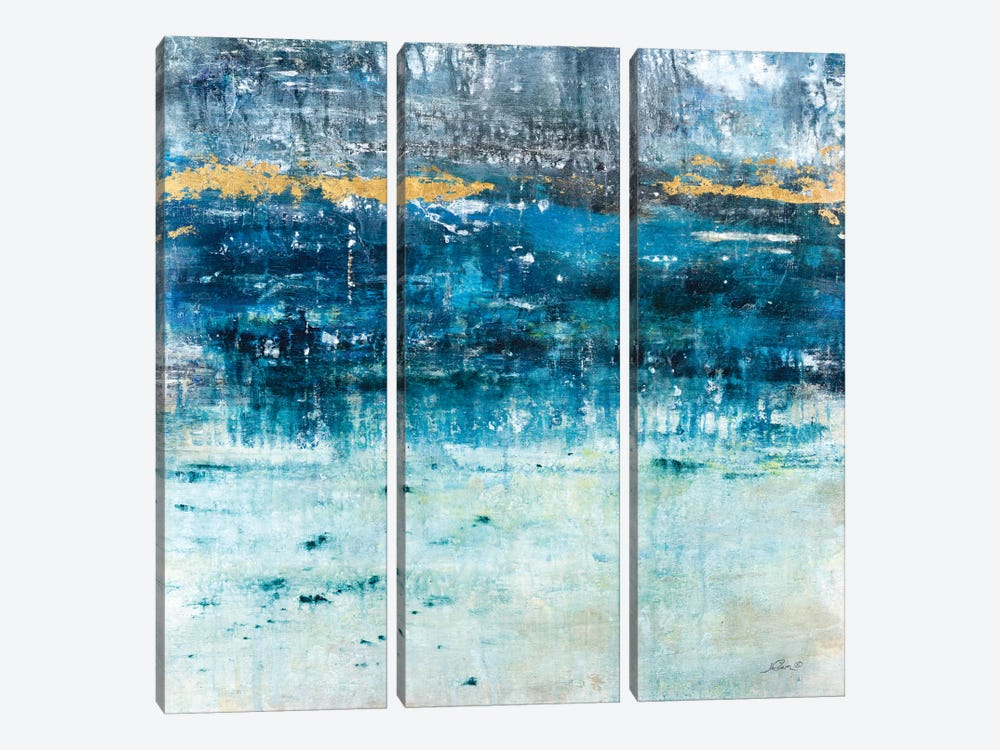 Touch Of Gold by Julian Spencer 3-piece Art Print