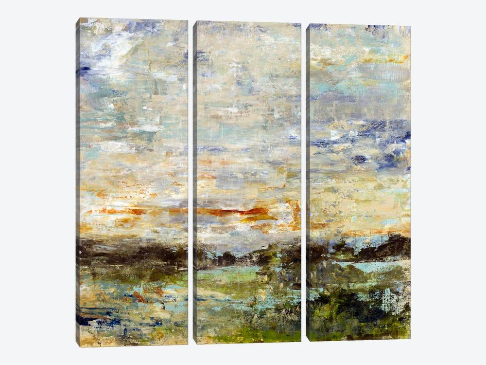Hillside View by Julian Spencer 3-piece Canvas Print