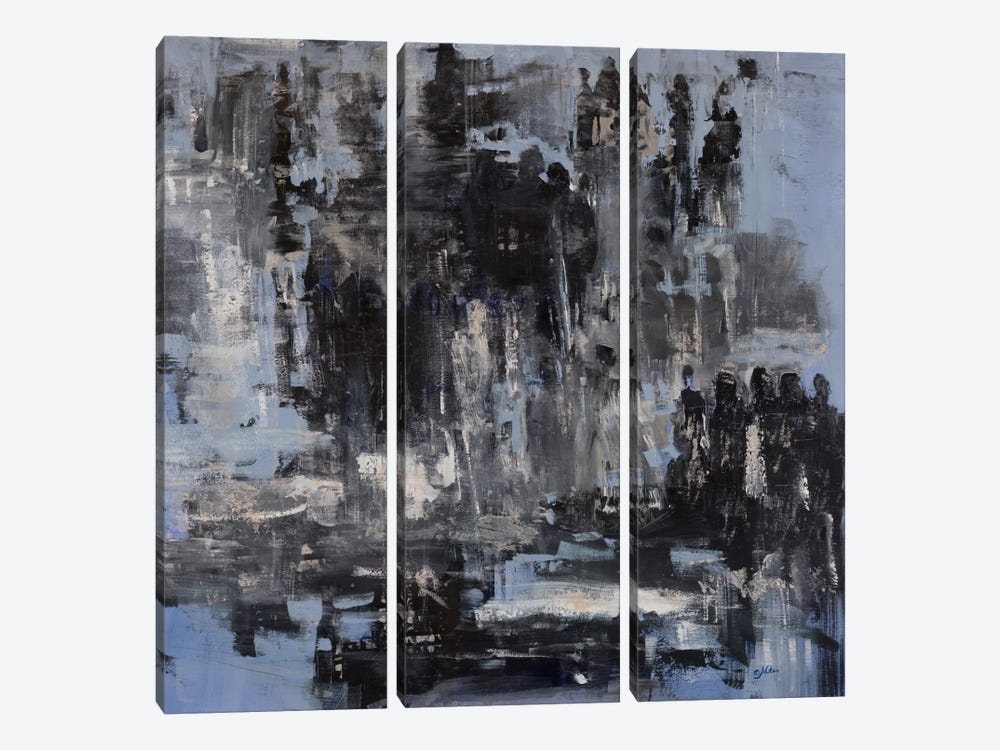 Interactions by Julian Spencer 3-piece Canvas Art