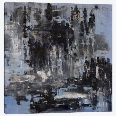 Interactions Canvas Print #JSR94} by Julian Spencer Art Print