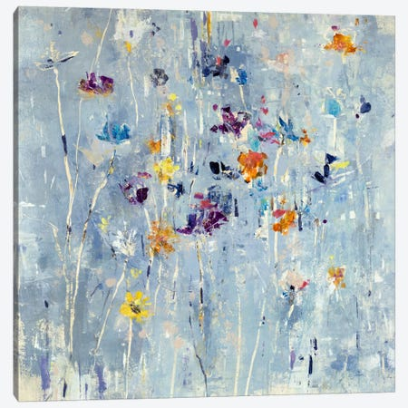 Itsy Bitsy Floral Canvas Print #JSR95} by Julian Spencer Canvas Print
