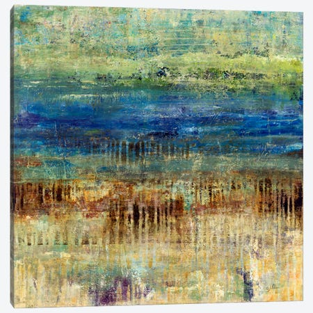 Patina Beach Canvas Print #JSR96} by Julian Spencer Canvas Print