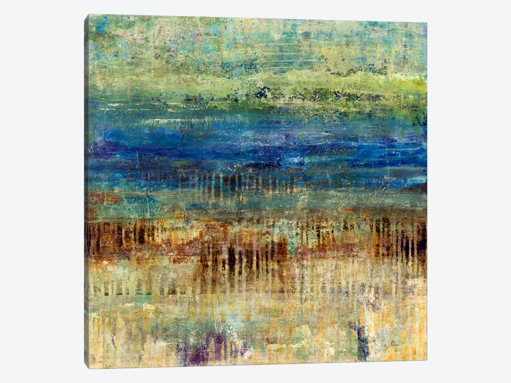 Patina Beach by Julian Spencer 1-piece Canvas Artwork