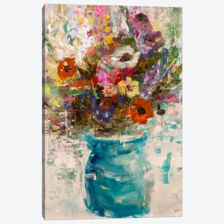 Vase Study Canvas Print #JSR97} by Julian Spencer Art Print