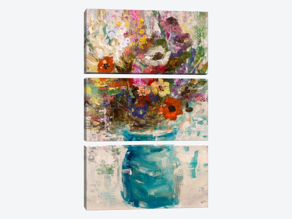 Vase Study by Julian Spencer 3-piece Art Print