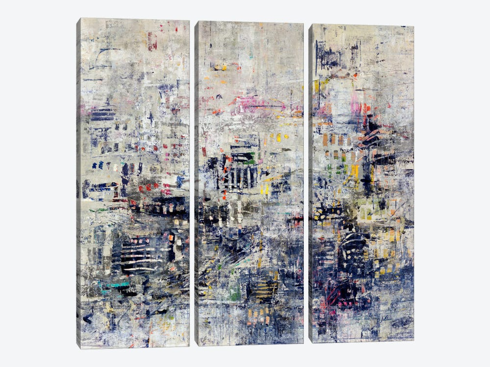 Wee Hours by Julian Spencer 3-piece Canvas Art