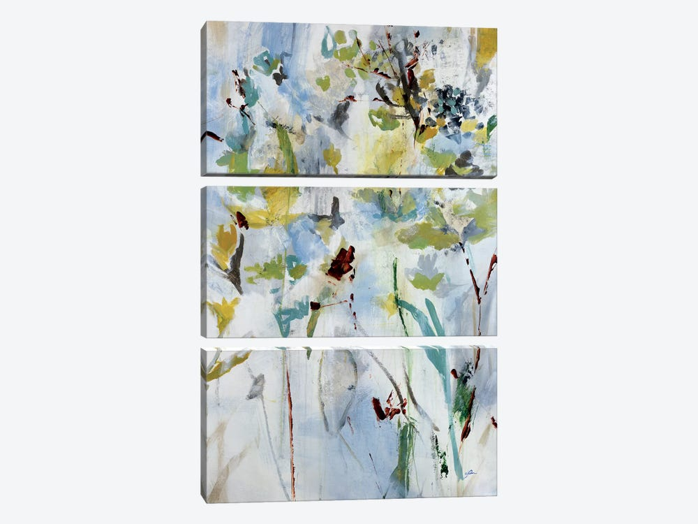 Floral Light I by Julian Spencer 3-piece Canvas Print
