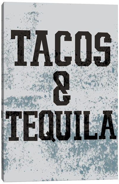 Taco-Bout It II Canvas Art Print