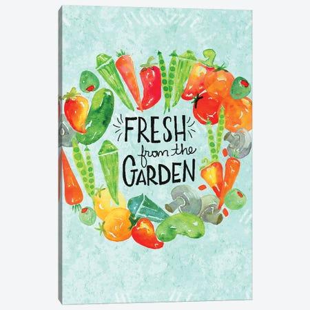 Garden Fresh II Canvas Print #JSS15} by Jessica Weible Canvas Artwork