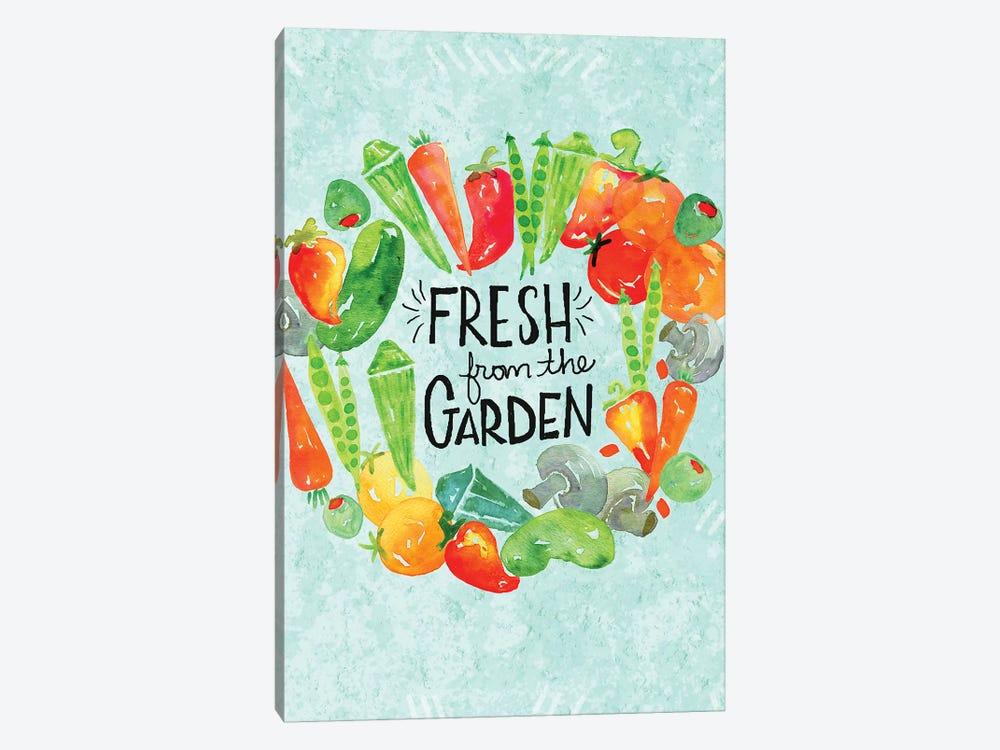Garden Fresh II by Jessica Weible 1-piece Canvas Art