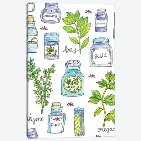 Garden Fresh III Canvas Print #JSS16} by Jessica Weible Canvas Art