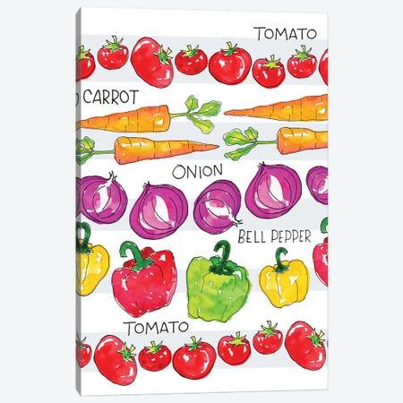 Garden Fresh IV Canvas Print #JSS17} by Jessica Weible Canvas Wall Art