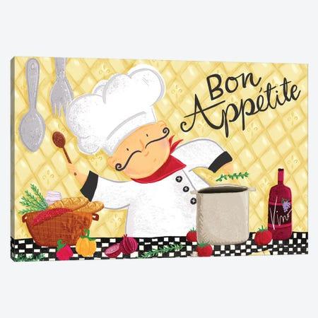 Bon Appetit I Canvas Print #JSS21} by Jessica Weible Canvas Art