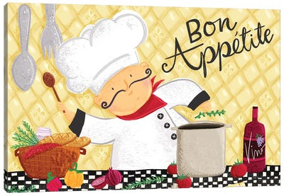 Bon Appetit I Canvas Art Print