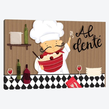 Bon Appetit III Canvas Print #JSS23} by Jessica Weible Canvas Art
