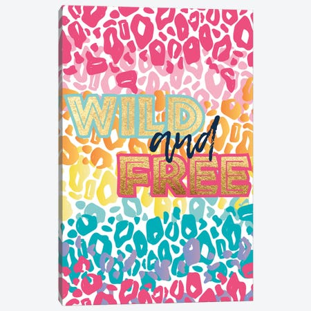 Wild Rainbow II Canvas Print #JSS25} by Jessica Weible Canvas Print