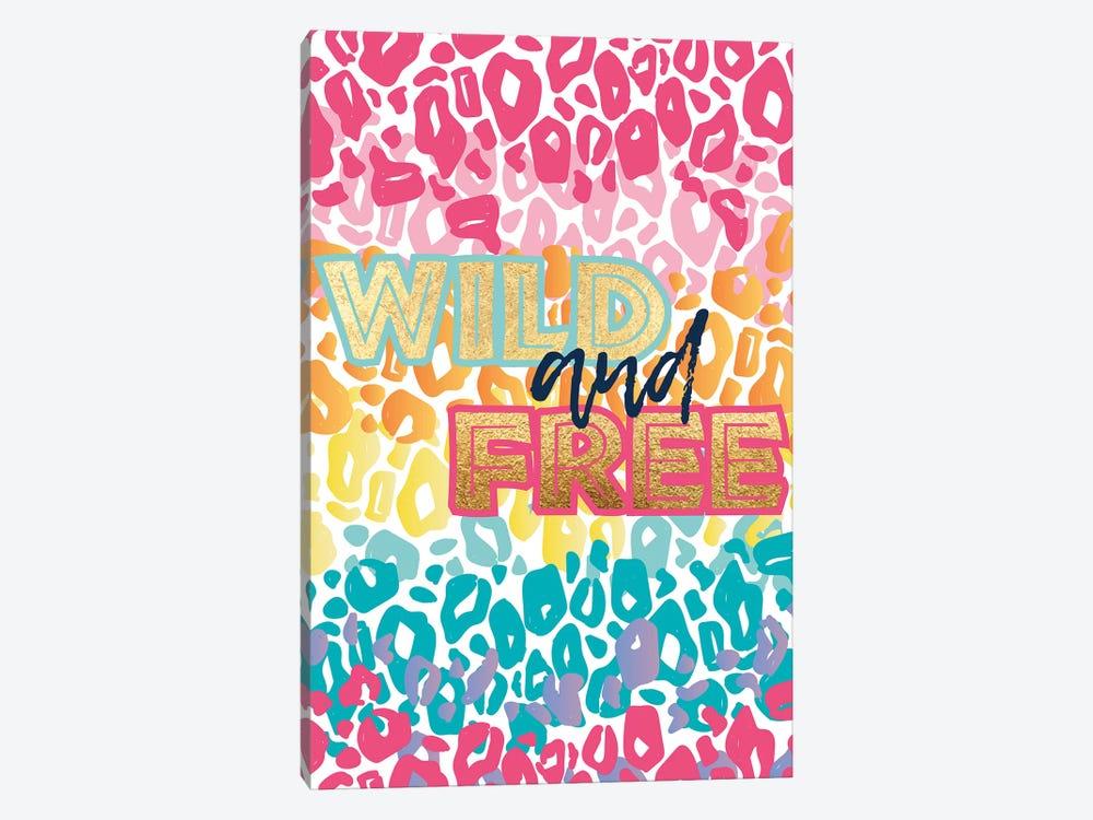 Wild Rainbow II by Jessica Weible 1-piece Canvas Print
