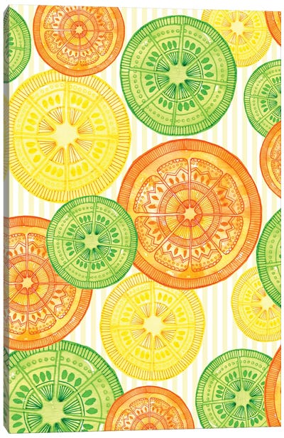 Sweet Citrus Canvas Art Print