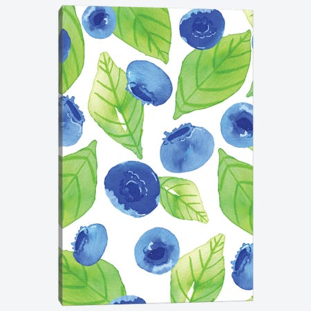 Watercolor Fruit II Canvas Print #JSS7} by Jessica Weible Canvas Art Print