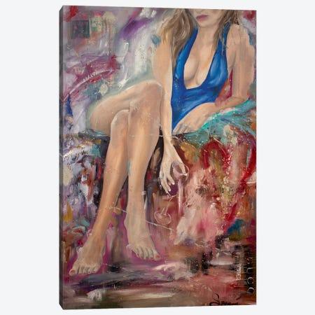 Wine Lover Canvas Print #JSU14} by Jason Sauve Canvas Artwork