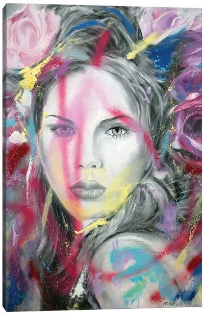 Crazy For You Canvas Art Print